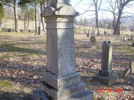 BROWN, WM. H. - Adams County, Ohio | WM. H. BROWN - Ohio Gravestone Photos