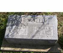 BROWNLEE, THELMA R. - Adams County, Ohio   THELMA R. BROWNLEE - Ohio Gravestone Photos