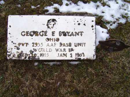 BRYANT, GEORGE E. - Adams County, Ohio | GEORGE E. BRYANT - Ohio Gravestone Photos