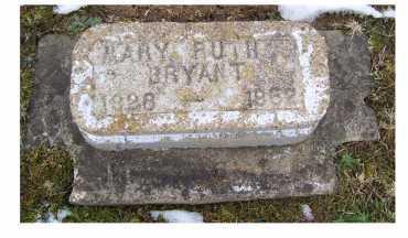 BRYANT, MARY RUTH - Adams County, Ohio | MARY RUTH BRYANT - Ohio Gravestone Photos