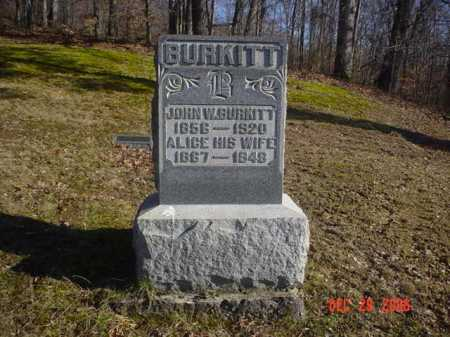 BURKITT, JOHN W. - Adams County, Ohio   JOHN W. BURKITT - Ohio Gravestone Photos