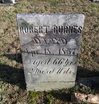 BURNES, ROBERT - Adams County, Ohio | ROBERT BURNES - Ohio Gravestone Photos