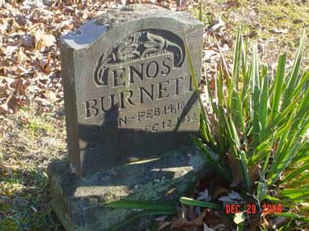 BURNETT, ENOS - Adams County, Ohio   ENOS BURNETT - Ohio Gravestone Photos