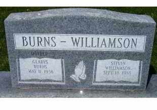 BURNS, GLADYS - Adams County, Ohio | GLADYS BURNS - Ohio Gravestone Photos