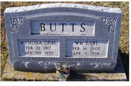 BUTTS, WYNONA OPAL - Adams County, Ohio | WYNONA OPAL BUTTS - Ohio Gravestone Photos