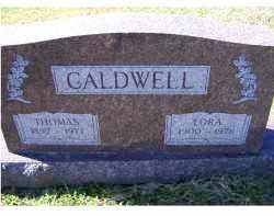CALDWELL, THOMAS - Adams County, Ohio | THOMAS CALDWELL - Ohio Gravestone Photos