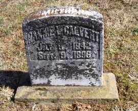 CALVERT, NANNIE L. - Adams County, Ohio | NANNIE L. CALVERT - Ohio Gravestone Photos