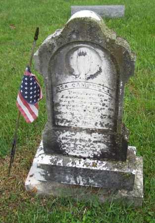 CAMPBELL, ASA - Adams County, Ohio   ASA CAMPBELL - Ohio Gravestone Photos
