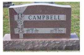 CAMPBELL, CLAIRE G. - Adams County, Ohio | CLAIRE G. CAMPBELL - Ohio Gravestone Photos