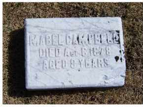 CAMPBELL, MABEL - Adams County, Ohio | MABEL CAMPBELL - Ohio Gravestone Photos