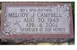CAMPBELL, MELODY J. - Adams County, Ohio | MELODY J. CAMPBELL - Ohio Gravestone Photos