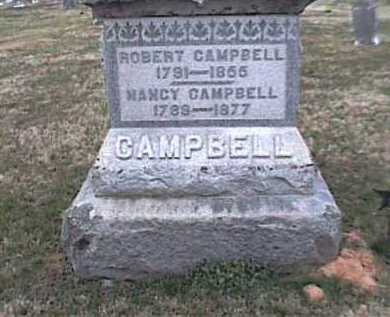 CAMPBELL, ROBERT - Adams County, Ohio | ROBERT CAMPBELL - Ohio Gravestone Photos