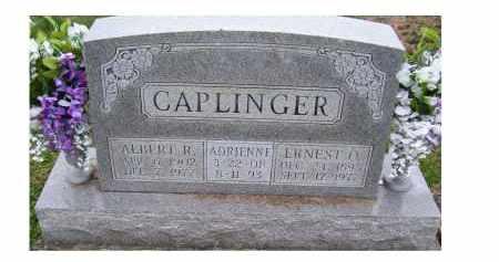 CAPLINGER, ALBERT R. - Adams County, Ohio | ALBERT R. CAPLINGER - Ohio Gravestone Photos