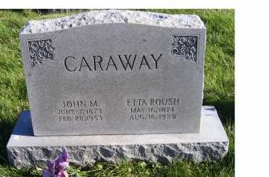 CARAWAY, ETTA - Adams County, Ohio | ETTA CARAWAY - Ohio Gravestone Photos