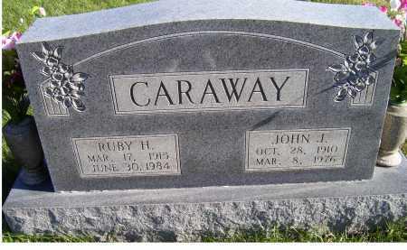 CARAWAY, JOHN J. - Adams County, Ohio | JOHN J. CARAWAY - Ohio Gravestone Photos