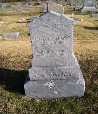 CARAWAY, LAFAYETTE - Adams County, Ohio | LAFAYETTE CARAWAY - Ohio Gravestone Photos