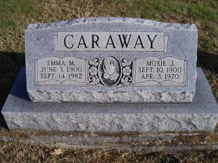 CARAWAY, EMMA M. - Adams County, Ohio | EMMA M. CARAWAY - Ohio Gravestone Photos