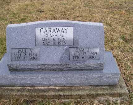 CARAWAY, SAM JR. - Adams County, Ohio   SAM JR. CARAWAY - Ohio Gravestone Photos