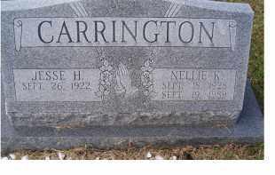 CARRINGTON, NELLIE K. - Adams County, Ohio   NELLIE K. CARRINGTON - Ohio Gravestone Photos