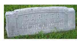 CARTER, MARION - Adams County, Ohio   MARION CARTER - Ohio Gravestone Photos