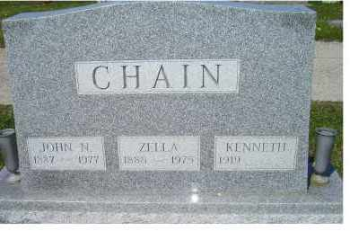 CHAIN, JOHN N. - Adams County, Ohio | JOHN N. CHAIN - Ohio Gravestone Photos