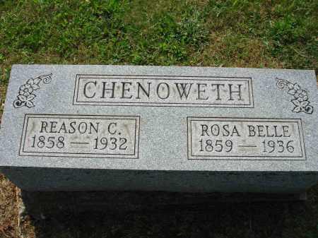CHENOWETH, REASON C - Adams County, Ohio | REASON C CHENOWETH - Ohio Gravestone Photos