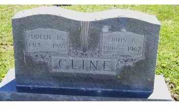 CLINE, JOHN P. - Adams County, Ohio   JOHN P. CLINE - Ohio Gravestone Photos