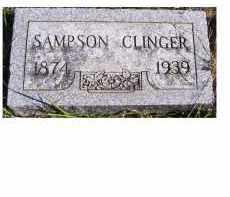 CLINGER, SAMPSON - Adams County, Ohio | SAMPSON CLINGER - Ohio Gravestone Photos