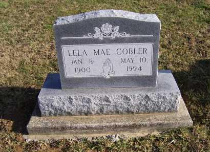 COBLER, LELA MAE - Adams County, Ohio   LELA MAE COBLER - Ohio Gravestone Photos
