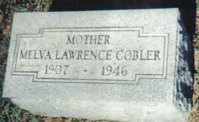 LAWRENCE COBLER, MELVA - Adams County, Ohio | MELVA LAWRENCE COBLER - Ohio Gravestone Photos