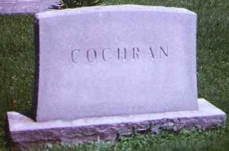 KRESS COCHRAN, CORA A - Adams County, Ohio | CORA A KRESS COCHRAN - Ohio Gravestone Photos