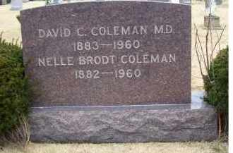 COLEMAN, DAVID C. - Adams County, Ohio | DAVID C. COLEMAN - Ohio Gravestone Photos