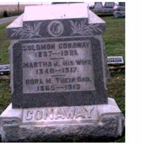 CONAWAY, SOLOMON - Adams County, Ohio | SOLOMON CONAWAY - Ohio Gravestone Photos