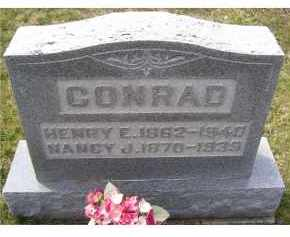 CONRAD, NANCY J. - Adams County, Ohio | NANCY J. CONRAD - Ohio Gravestone Photos