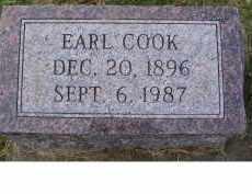 COOK, EARL - Adams County, Ohio   EARL COOK - Ohio Gravestone Photos