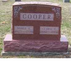 COOPER, CLARA E. - Adams County, Ohio | CLARA E. COOPER - Ohio Gravestone Photos