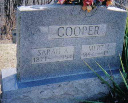 COOPER, MERT L. - Adams County, Ohio | MERT L. COOPER - Ohio Gravestone Photos
