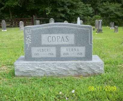 COPAS, ALBERT - Adams County, Ohio | ALBERT COPAS - Ohio Gravestone Photos