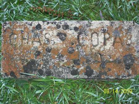 COPAS, CHARLES - Adams County, Ohio | CHARLES COPAS - Ohio Gravestone Photos