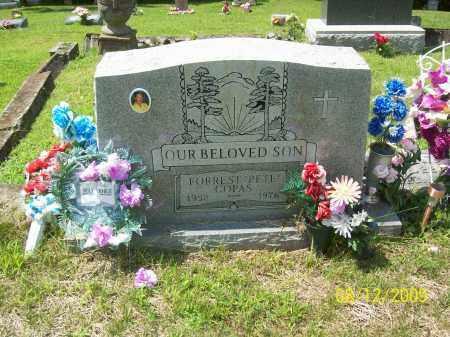 "COPAS, FORREST ""PETE"" - Adams County, Ohio | FORREST ""PETE"" COPAS - Ohio Gravestone Photos"