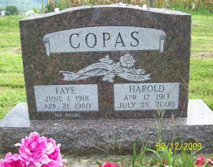 COPAS, HAROLD - Adams County, Ohio | HAROLD COPAS - Ohio Gravestone Photos
