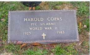 COPAS, HAROLD - Adams County, Ohio | HAROLD COPAS - Ohio Gravestone Photos