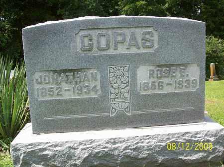 COPAS, ROZELLA E - Adams County, Ohio | ROZELLA E COPAS - Ohio Gravestone Photos