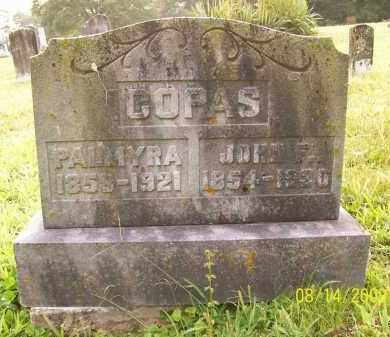 COPAS, JOHN F - Adams County, Ohio | JOHN F COPAS - Ohio Gravestone Photos