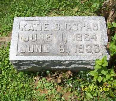 COPAS, KATIE B - Adams County, Ohio   KATIE B COPAS - Ohio Gravestone Photos