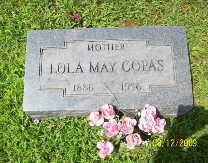 COPAS, LOLA MAY - Adams County, Ohio   LOLA MAY COPAS - Ohio Gravestone Photos