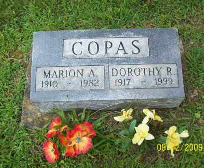 COPAS, DOROTHY R - Adams County, Ohio   DOROTHY R COPAS - Ohio Gravestone Photos