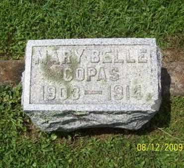 COPAS, MARY BELLE - Adams County, Ohio | MARY BELLE COPAS - Ohio Gravestone Photos
