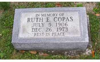 COPAS, RUTH E. - Adams County, Ohio | RUTH E. COPAS - Ohio Gravestone Photos