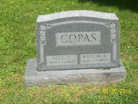 COPAS, WILSON R - Adams County, Ohio | WILSON R COPAS - Ohio Gravestone Photos